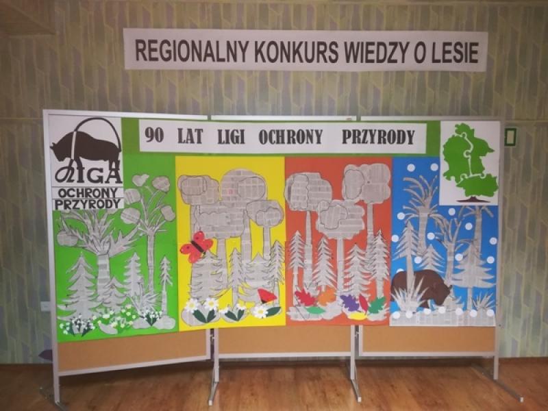 Aktualności Iv Regionalny Konkurs Wiedzy O Lesie 90 Lat